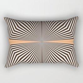 Orange #451 Rectangular Pillow