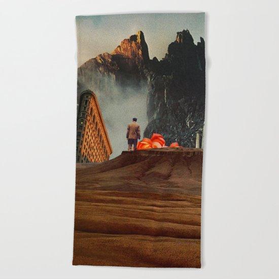My Worlds Fall Apart Beach Towel