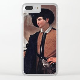 Caravaggio - Good Luck Clear iPhone Case