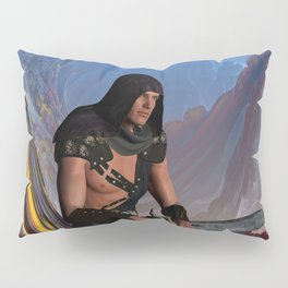 Lost Warrior Pillow Sham