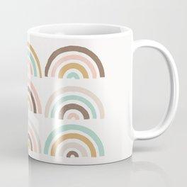 Stamped Rainbows - Coffee Coffee Mug
