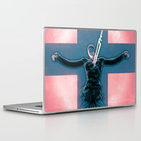 evangelion Laptop & iPad Skins featuring Lilth from Evangelion by Barrett Biggers