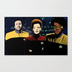 IT Trek Canvas Print