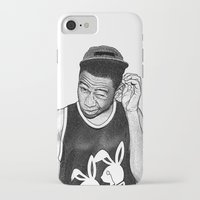 tyler the creator iPhone & iPod Cases featuring Tyler the Creator by Rui Faria