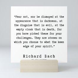 91  | Richard Bach Quotes | 190916 Mini Art Print