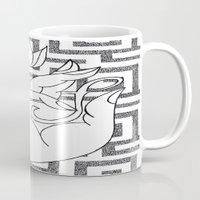 spiritual Mugs featuring spiritual power by smurfmonster