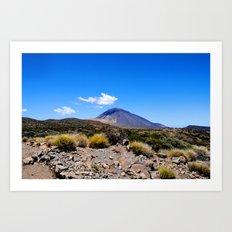 El Teide Art Print