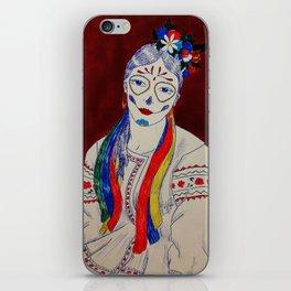 Skullcandy Ethnic Lady iPhone Skin