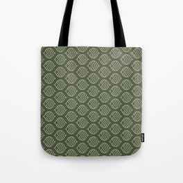 Olive Scales Tote Bag