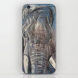 The Painter Elephant iPhone Skin