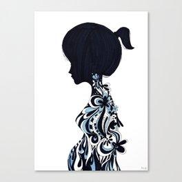 living lady Canvas Print