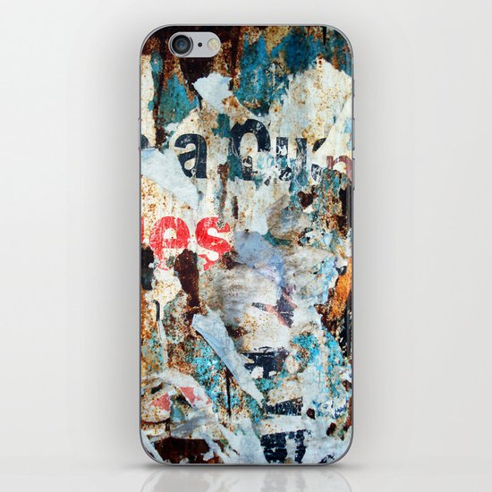 Vestiges II iPhone & iPod Skin