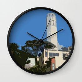 Coit Tower Wall Clock