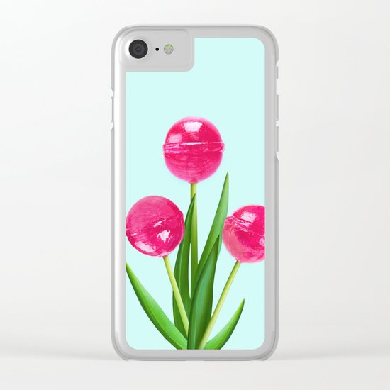 TULIPOPS Clear iPhone Case