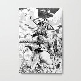 YO SOY LAS VEGAS (AUTORRETRATO) Metal Print