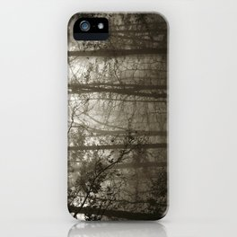Foggy Woods iPhone Case