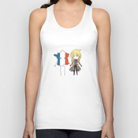 enjolras Tank Tops featuring otp by The Eggplant Market