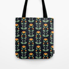 Bud'n Bloom (deep blue) Tote Bag