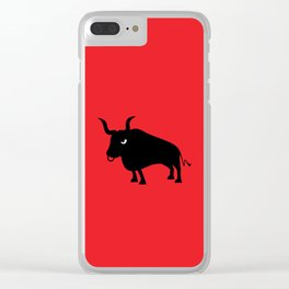 Angry Animals: Bull Clear iPhone Case