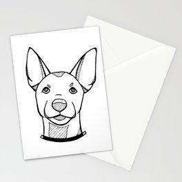 Miniature Pinscher Portrait Stationery Cards