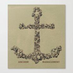 Anchor Management Canvas Print