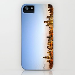 Chicago Skyline Sunset iPhone Case