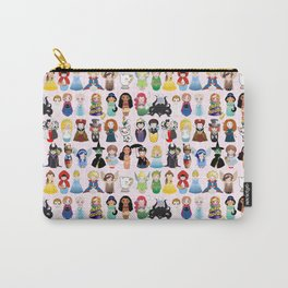 Cute kokeshis fairy tales Carry-All Pouch