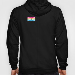 Pansexual UK Flag graphic LGBTQ Pride Gift Idea Hoody