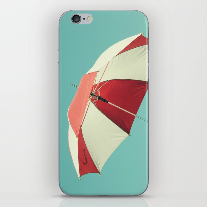 Rainy Days don't Last Forever iPhone Skin