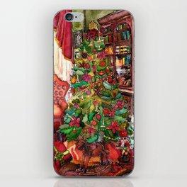 Bibliophile's Christmas iPhone Skin