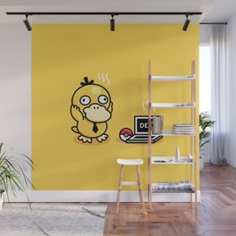 Psyduck in real life Wall Mural