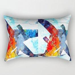 Par Avion Rectangular Pillow