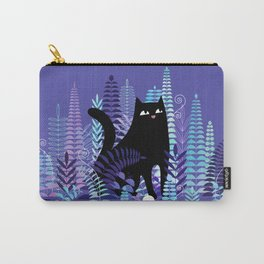 The Ferns (Black Cat Version) Carry-All Pouch
