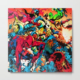 super hero zombie Metal Print