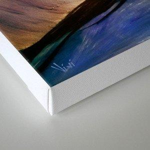 Tunel de luz Canvas Print
