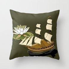 The Wandering dutch. Throw Pillow