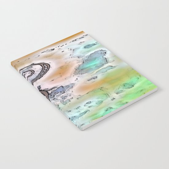Vintage swirl Notebook