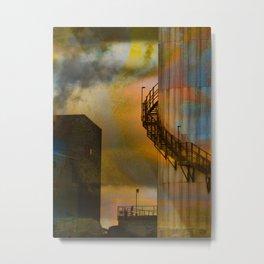 Factory by Jean-François Dupuis Metal Print
