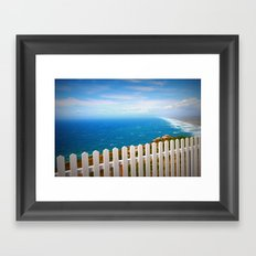 Heaven. Framed Art Print
