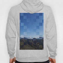 Pixelated Mountainscape Hoody