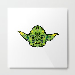 Dead Yoda Metal Print