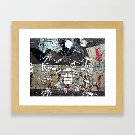 Bot Paste Framed Art Print