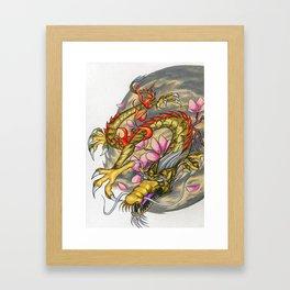 Warp Dragon Framed Art Print