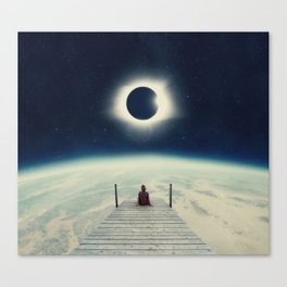 Blissful Solitude Canvas Print