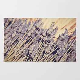 Lavender Flowers Rug