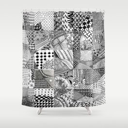 Collaboration Test Shower Curtain