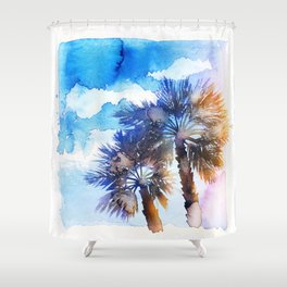 It's always better on holidays  Shower Curtain