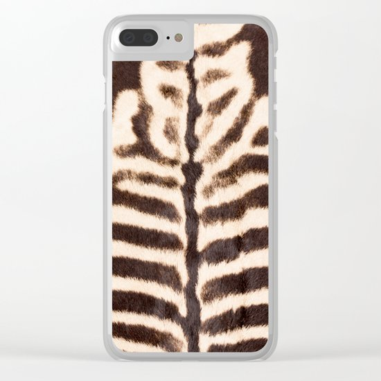 Zebra - stripes - classic - #society6 #buyart Clear iPhone Case