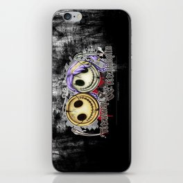Totenknopf & Totenknöpfen iPhone Skin