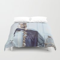 rapunzel Duvet Covers featuring Rapunzel by Rose's Creation